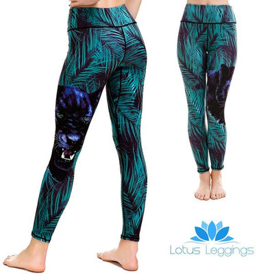 LOTUSX™ Mysterious Kitty Leggings