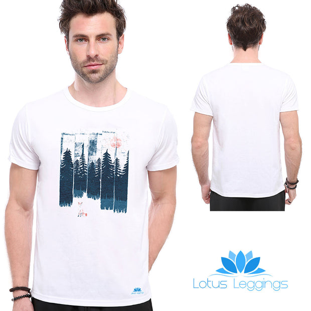 Into Trees T-shirt - Lotus Leggings
