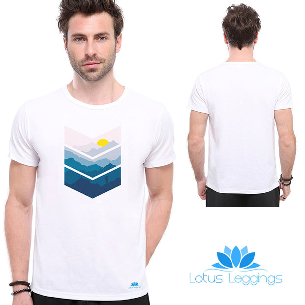 Sunrise T-Shirt - Lotus Leggings