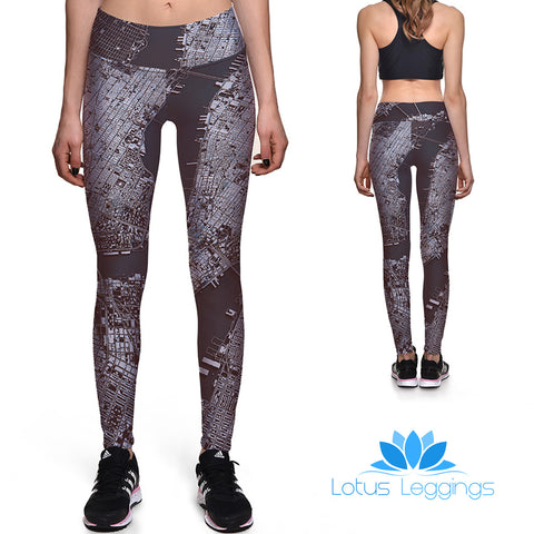 City Girl Athletic Leggings