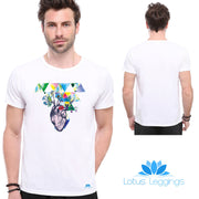 Sleepless Heart T-shirt - Lotus Leggings