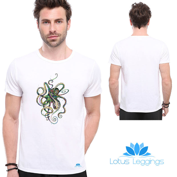 Octopoda Mollusca T-shirt - Lotus Leggings