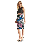 Winding River Pencil Skirt