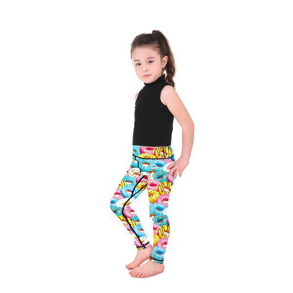 Yummy Donuts Kid's Leggings