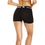 Lotus Leggings Blackout BoyShorts