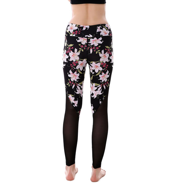 Pink Floral MaxReveal Leggings - Lotus Leggings