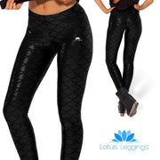 BLACK MERMAID LEGGINGS