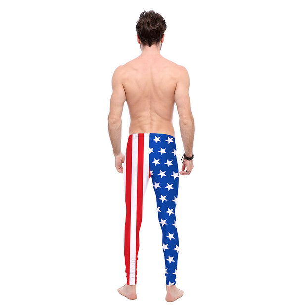 The Patriotic Leggings - Lotus Leggings