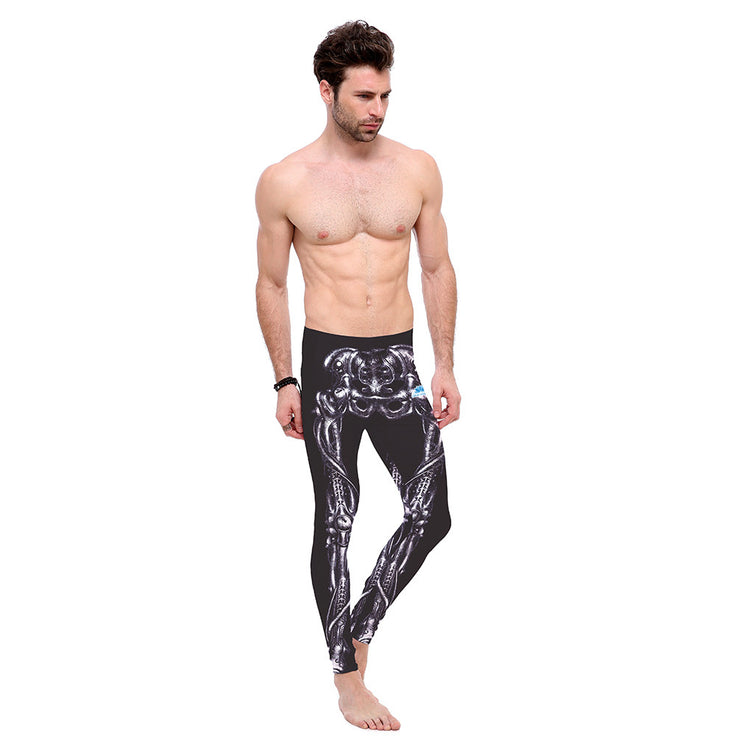 Skinned Bones Leggings - Lotus Leggings