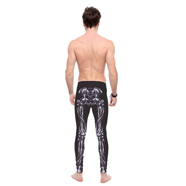 Walking Skeleton Leggings - Lotus Leggings