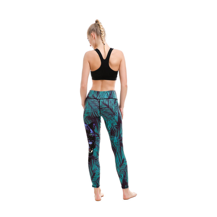 LOTUSX™ Mysterious Kitty Leggings - Lotus Leggings