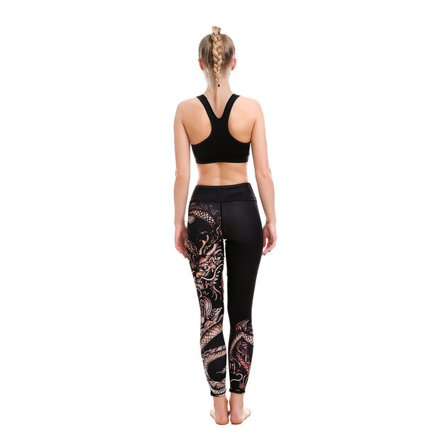 LOTUSX™ Dragon Enchanted  Leggings - Lotus Leggings