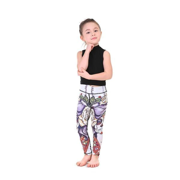 LotusX™ Kid's Sugar Skull Leggings