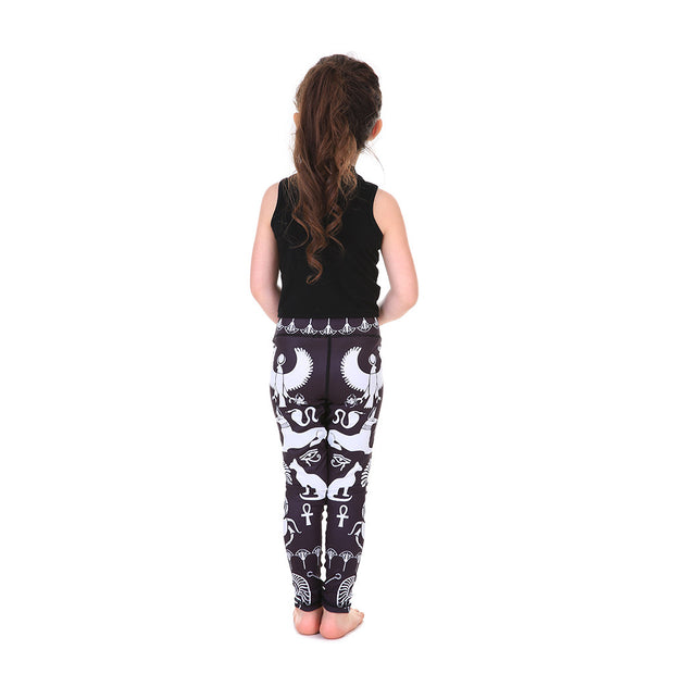 LotusX™ Kid's Hieroglyphics Leggings - Lotus Leggings