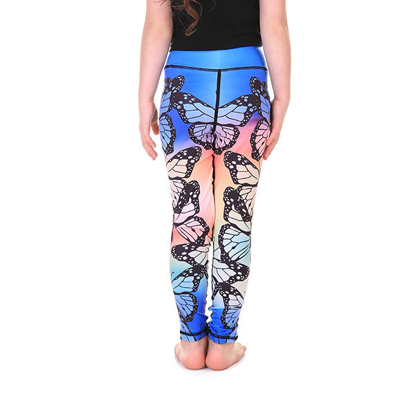 LotusX™ Kid's Butterfly Leggings - Lotus Leggings