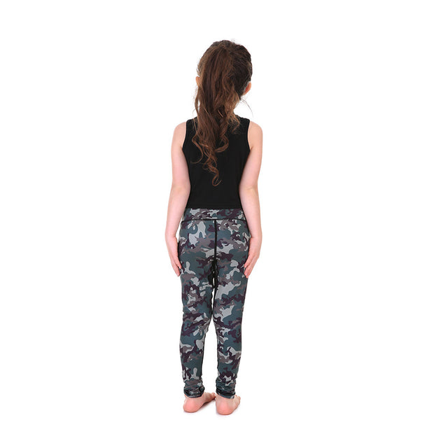 LotusX™ Kid's Camo Leggings - Lotus Leggings