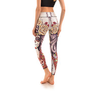 LotusX™ Sugar Skull Leggings - Lotus Leggings