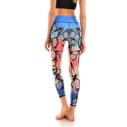 LotusX™ Rainbow Butterfly Leggings - Lotus Leggings
