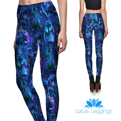 Space Cats Leggings - Lotus Leggings