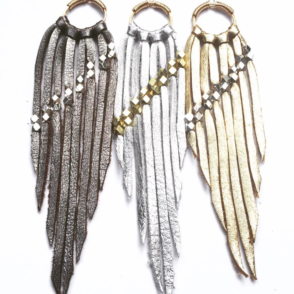 Landslide Fringe Earrings