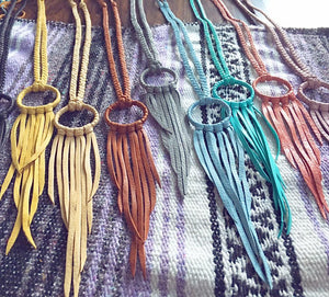 Grayson Fringe Necklace