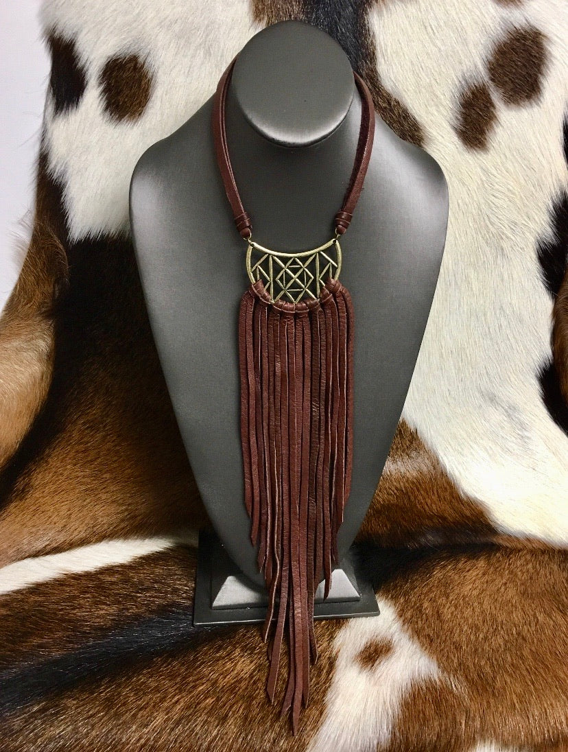 The Stevie Fringe Necklace
