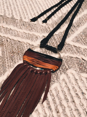 Levon Fringe Necklace