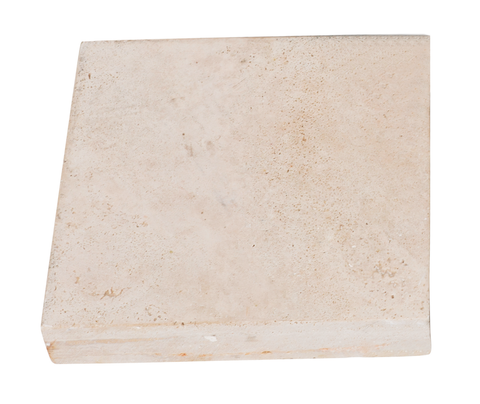 Travertine Paver in Cream (400x400x50mm)