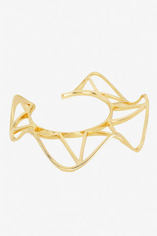 Ribbon Bracelet with Triangles