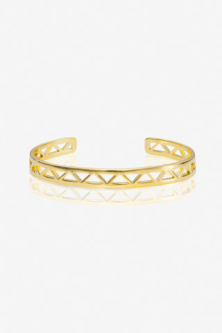 Triangle Cut-Out Bracelet