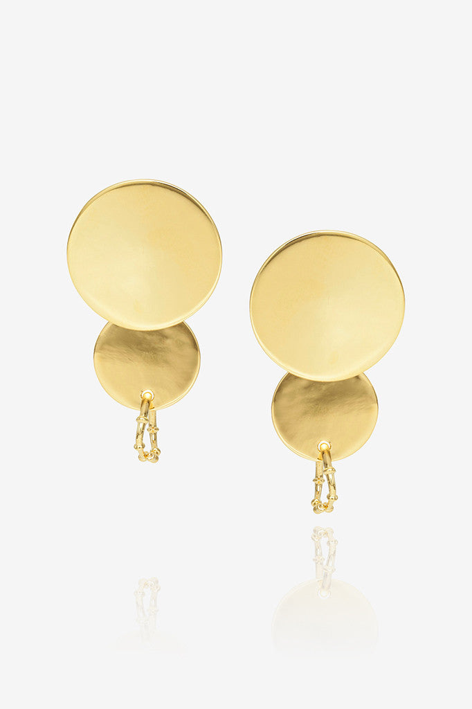 Circle Bamboo Earrings