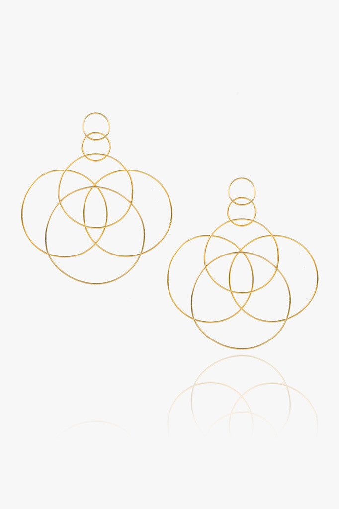 Statement Halo Earring
