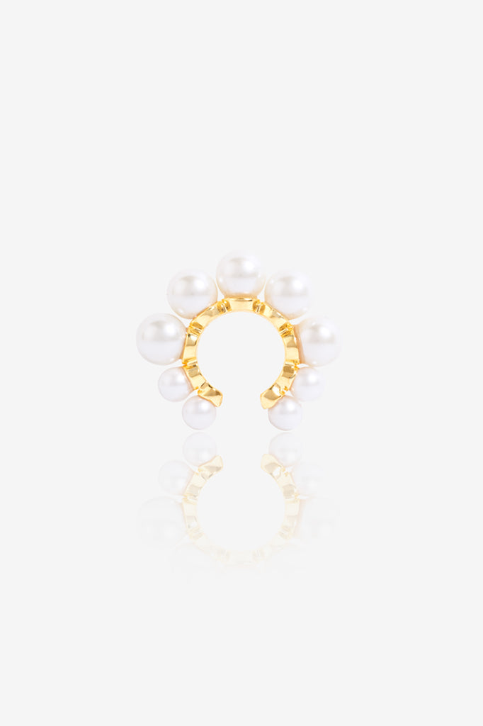 Statement Pearl Ear Cuff
