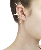 Triangle Sphere Ear Cuff