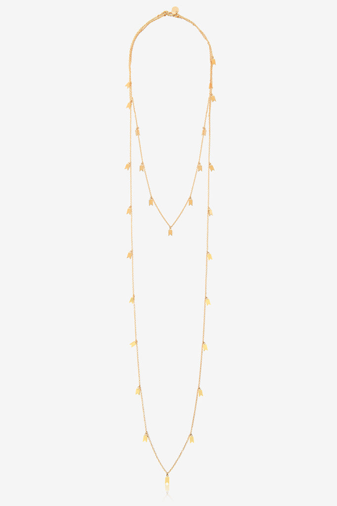 Detachable Two Layer Necklace