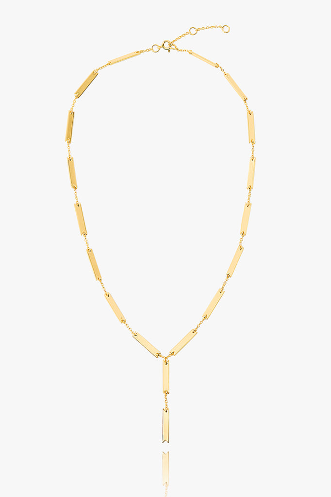 Link Lariat Necklace