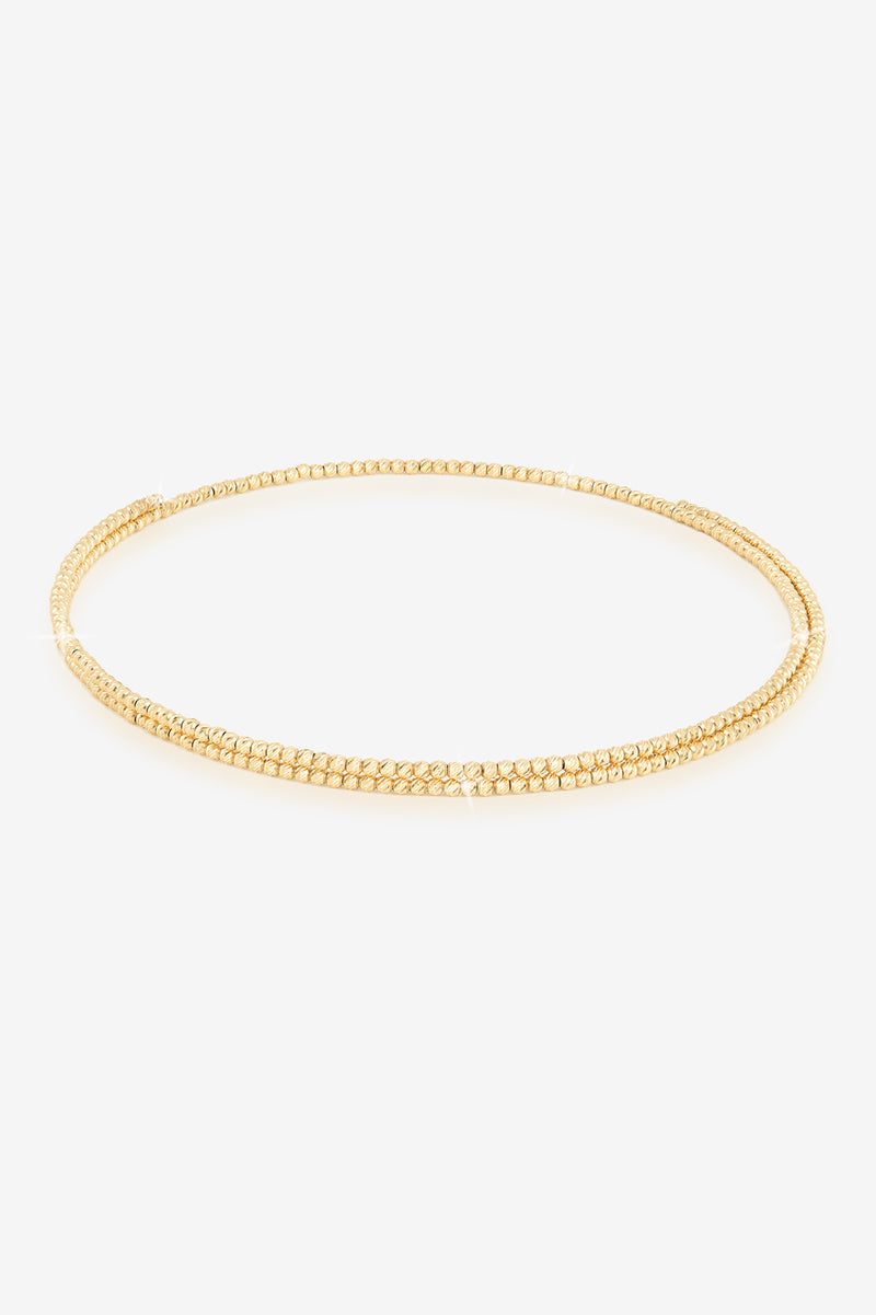 14k Gold Double Choker