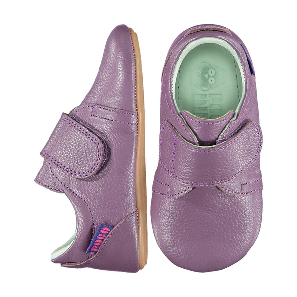 Mighty Shoes. Grapeade Velcro Flap Shoe