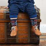 Leather Mighty Shoes. Toddler Desert Boots - Poco Nido Shoes