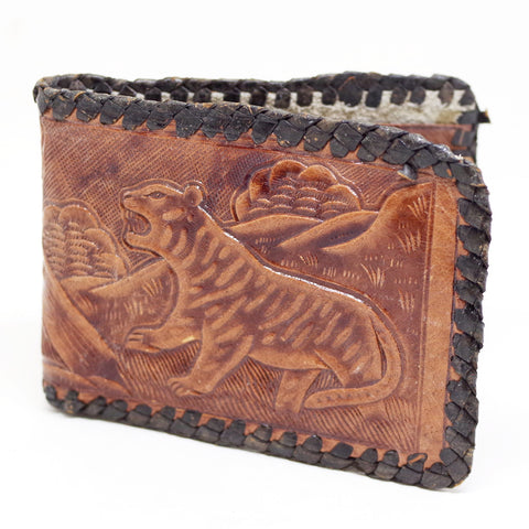 The Hunter and Hunted Mexican Leather Bifold
