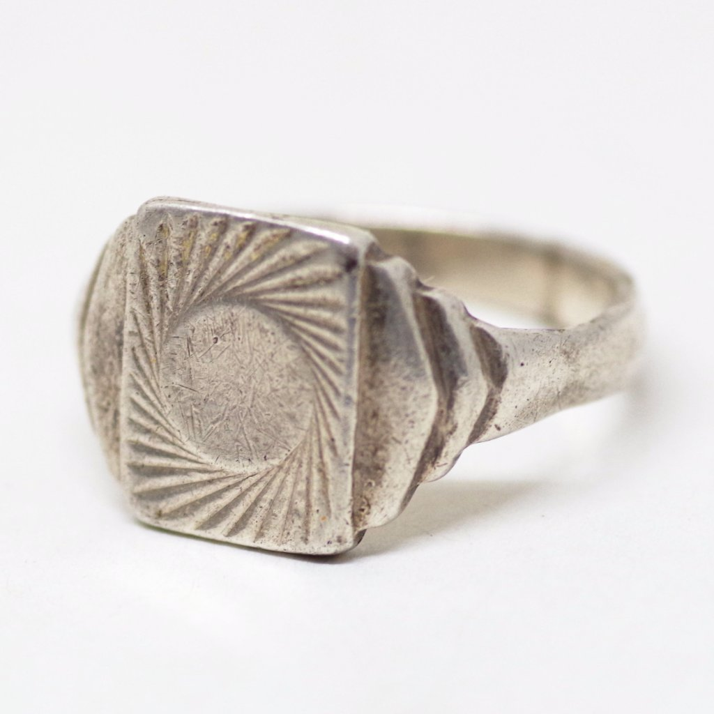 Swirling Silver Ring