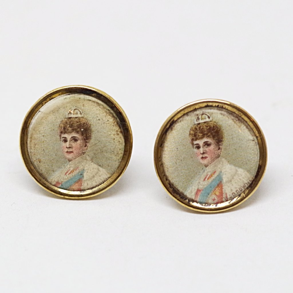 Queen Mary Portrait Cufflinks