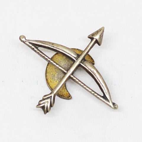 Bow and Arrow Lapel Pin