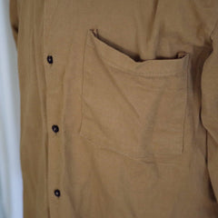 Vintage British Factory Work Shirt- L/XL