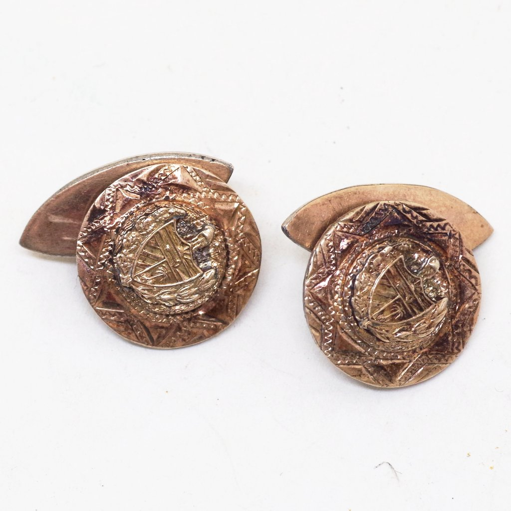 Cuba Coat of Arms Cufflinks