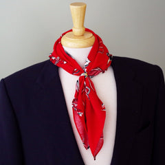 Wild West Red Bandanna by Put This On