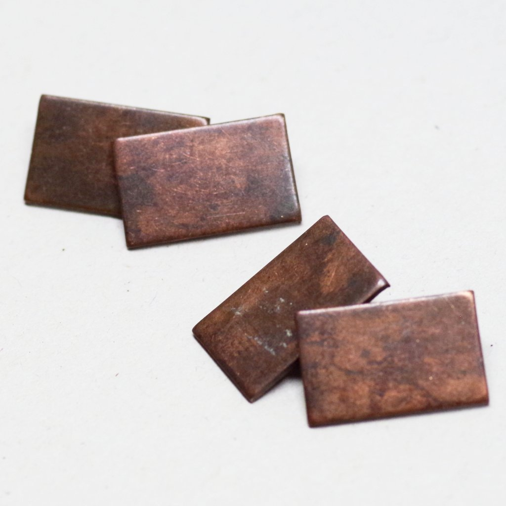 Rectangular Copper Cufflinks