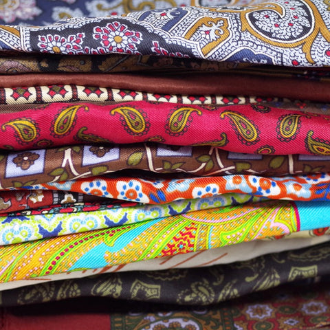 The Vintage Pocket Square Variety Pack