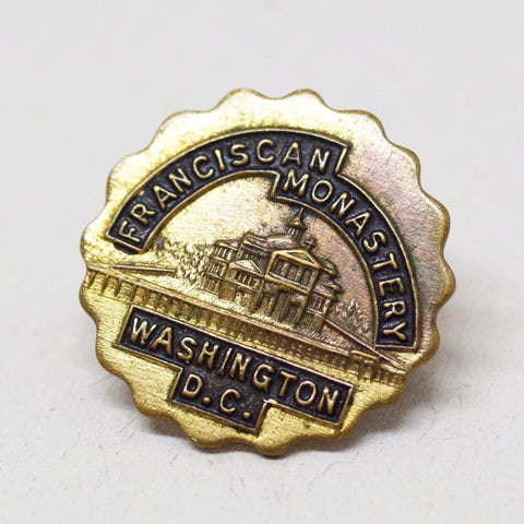 Franciscan Monastery of DC Souvenir Pin