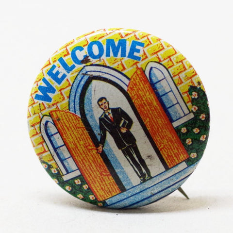 A Most Welcoming Pin